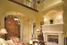 Mediterranean Interior - Family Room Plan #930-398