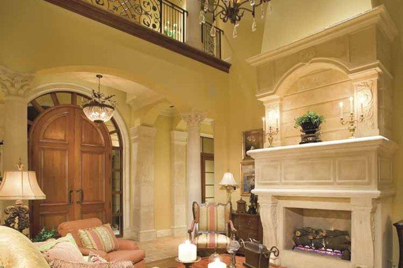 Mediterranean Interior - Family Room Plan #930-398 - Houseplans.com