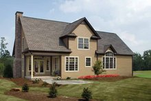 House Plan Design - Country Exterior - Rear Elevation Plan #929-634