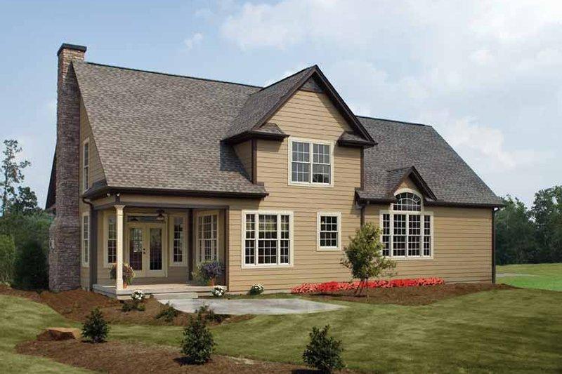Country Exterior - Rear Elevation Plan #929-634 - Houseplans.com