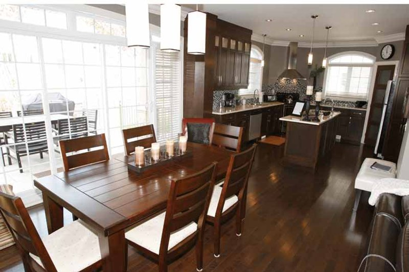 European Interior - Dining Room Plan #23-2547 - Houseplans.com