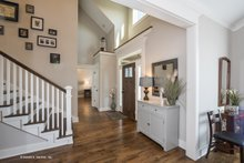 Traditional Interior - Entry Plan #929-770