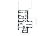 Prairie Style House Plan - 4 Beds 2.5 Baths 2439 Sq/Ft Plan #434-2 Floor Plan - Upper Floor Plan