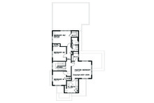Prairie Floor Plan - Upper Floor Plan Plan #434-2