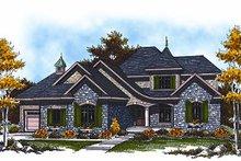Cottage Exterior - Front Elevation Plan #70-883