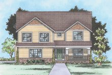 Dream House Plan - Traditional Exterior - Front Elevation Plan #20-2180
