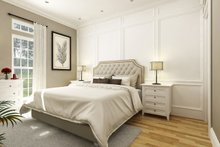 Cottage Interior - Master Bedroom Plan #45-368