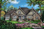 European Style House Plan - 4 Beds 3 Baths 2453 Sq/Ft Plan #929-3 Exterior - Front Elevation