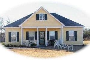 Farmhouse Exterior - Front Elevation Plan #81-1373