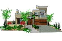 Home Plan - Modern Exterior - Front Elevation Plan #484-2