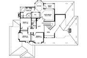 Craftsman Style House Plan - 4 Beds 2.5 Baths 2770 Sq/Ft Plan #132-121 Floor Plan - Upper Floor Plan