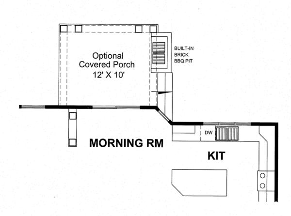 Traditional Floor Plan - Other Floor Plan Plan #316-277
