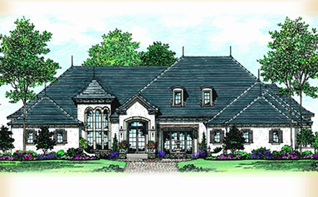European style house plan 5 beds 6 5 baths 6389 sq ft for Weinmaster house plans