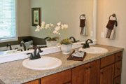 Craftsman Style House Plan - 2 Beds 2.5 Baths 2448 Sq/Ft Plan #928-196 Interior - Master Bathroom