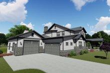 House Plan Design - Left Front