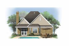 Ranch Exterior - Rear Elevation Plan #929-866