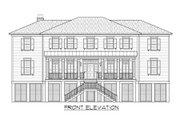 Beach Style House Plan - 4 Beds 4.5 Baths 4446 Sq/Ft Plan #1054-84