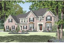 Architectural House Design - Classical Exterior - Front Elevation Plan #328-456