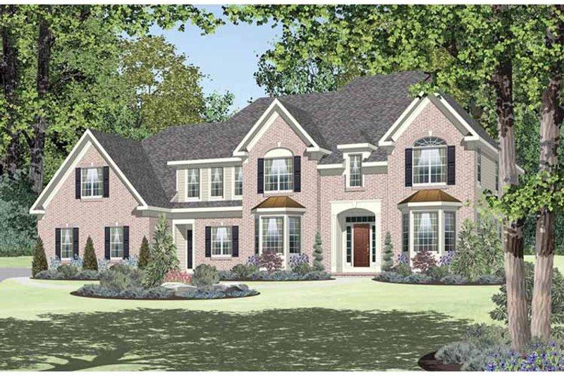 Classical Exterior - Front Elevation Plan #328-456 - Houseplans.com