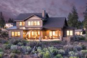 Craftsman Style House Plan - 4 Beds 3.5 Baths 3301 Sq/Ft Plan #895-50 Exterior - Rear Elevation
