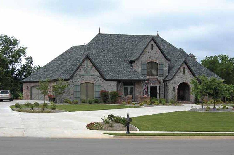 House Plan Design - Cottage Exterior - Front Elevation Plan #11-279