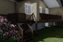 Architectural House Design - Traditional Exterior - Outdoor Living Plan #1060-61