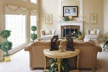 Home Plan - Mediterranean Interior - Family Room Plan #927-141