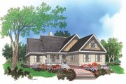 Ranch Style House Plan - 3 Beds 2 Baths 1673 Sq/Ft Plan #929-560 Exterior - Front Elevation