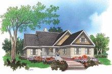 House Plan Design - Ranch Exterior - Front Elevation Plan #929-560