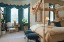 Colonial Interior - Master Bedroom Plan #417-666