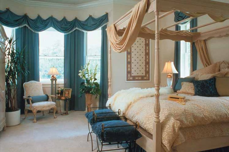 Colonial Interior - Master Bedroom Plan #417-666 - Houseplans.com