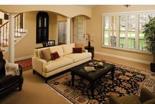 Dream House Plan - Country Interior - Family Room Plan #929-701