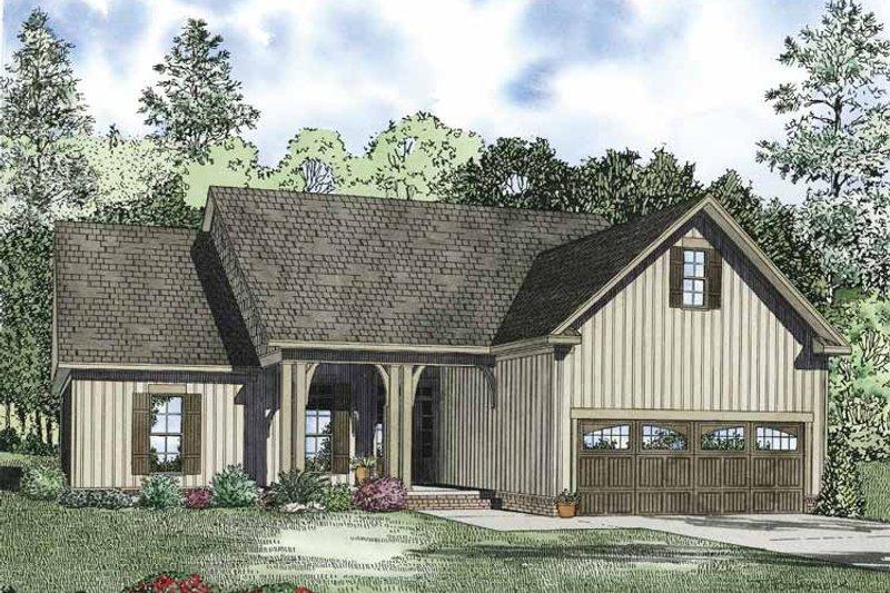 Ranch Exterior - Front Elevation Plan #17-3326 - Houseplans.com