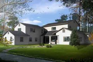Traditional Exterior - Front Elevation Plan #1-869