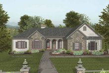 Traditional Exterior - Front Elevation Plan #56-684