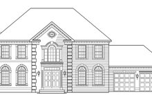 Country Exterior - Front Elevation Plan #953-55