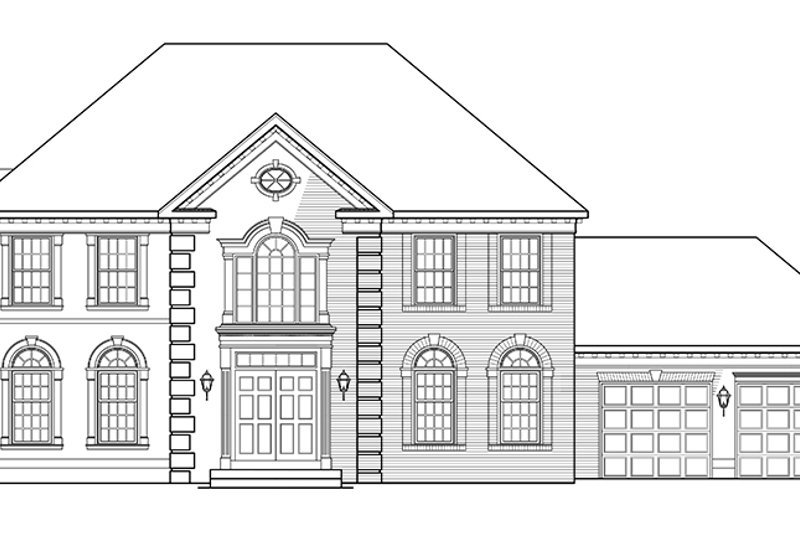 Country Exterior - Front Elevation Plan #953-55 - Houseplans.com