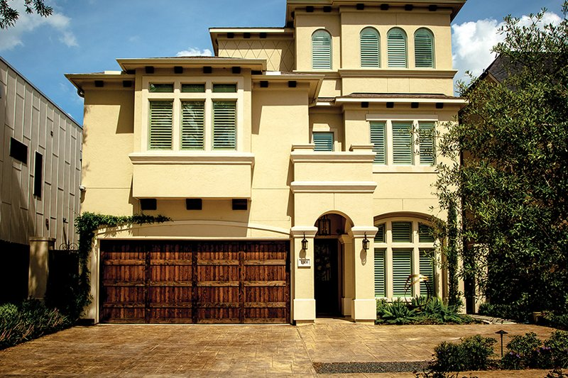 Architectural House Design - Mediterranean Exterior - Front Elevation Plan #1021-13