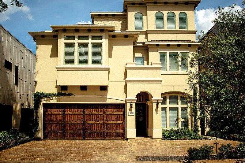 Dream House Plan - Mediterranean Exterior - Front Elevation Plan #1021-13