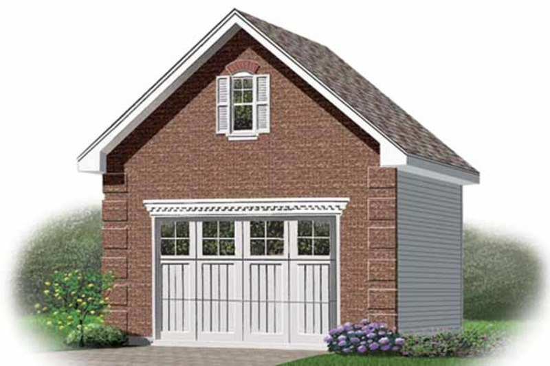Exterior - Front Elevation Plan #23-2451