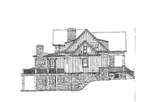 Home Plan - Craftsman Exterior - Other Elevation Plan #429-272