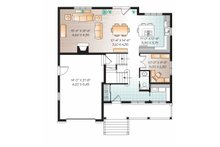 Country Floor Plan - Main Floor Plan Plan #23-2542