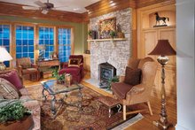 Dream House Plan - Country Interior - Family Room Plan #429-258
