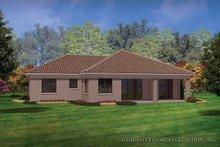 Home Plan - Mediterranean Exterior - Rear Elevation Plan #930-452
