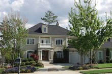 House Plan Design - Country Exterior - Front Elevation Plan #453-377