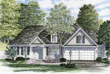 Ranch Exterior - Front Elevation Plan #316-248