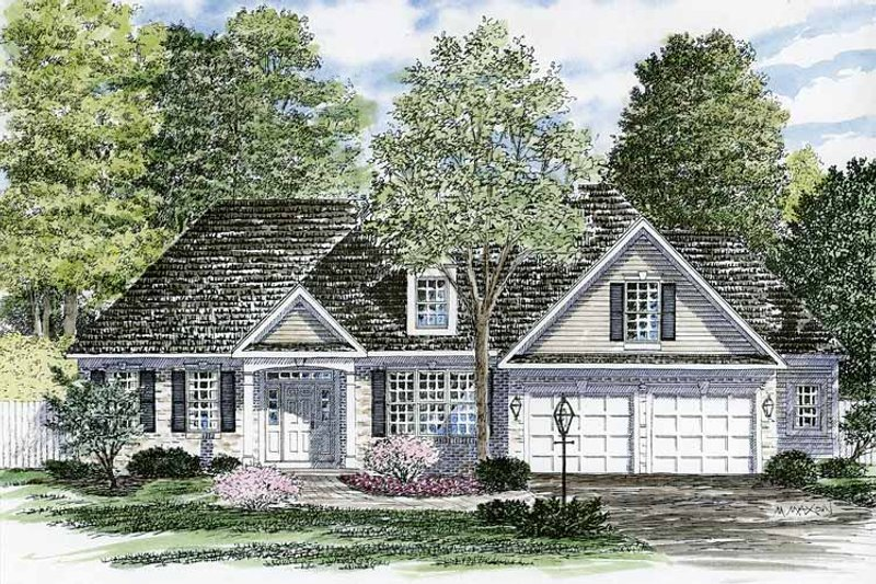Home Plan - Ranch Exterior - Front Elevation Plan #316-248