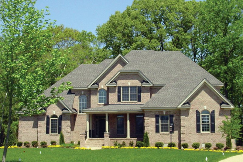 Home Plan - Country Exterior - Front Elevation Plan #927-567