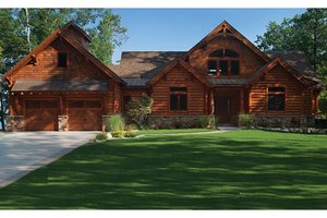 Log Cabin House Plans Country Log House Plans