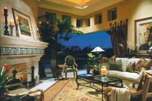 Mediterranean Interior - Family Room Plan #930-104